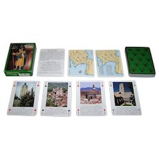 "Editions Dusserre ""Les Chemins de Saint-Jacques"" Playing Cards"