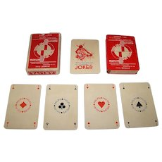 "Ets. Mesmaeker ""Philips Arlita"" Playing Cards, Art Deco Designs, c.1925"