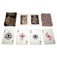 "Bharat Prototype Studio ""Orient – The Queen of Cards"" Playing Cards, Subho Tagore Designs, c.1945"