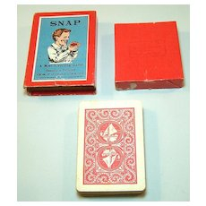 """Spears (Bavaria) """"Snap"""" Card Set, English Designs, Hand Painted, """"Grotesque Characters,"""" c.1880s"""
