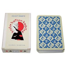 "Carta Mundi ""Krolse Katten Kaarten"" (""Cats in Heat Cards"") Erotic Playing Cards, Oog & Blik/De Harmonie Publisher,  Joost Swarte Designs, c.1995"