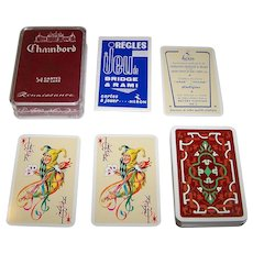 "Heron ""Chambord"" Playing Cards, A. Belliard Designs, c.1952"