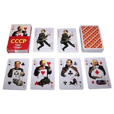 "Piatnik ""CCCP – Soviet Celebrities"" Playing Cards, Vladislav Pankevitch Designs"