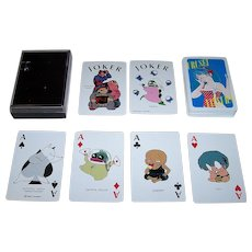 "Nintendo ""Urusei Yatsura"" Playing Cards, Rumiko Takahashi Designs, c.1978-1987"