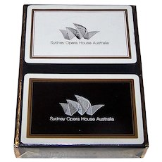 """Printace Productions """"Sydney Opera House Australia"""" Playing Cards"""