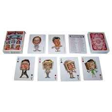 """""""Politicards '96"""" Playing Cards, Peter Green Designs, c.1996"""