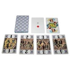"""ASS """"Encyclopedic Tarock"""" Cards, c.1960s"""