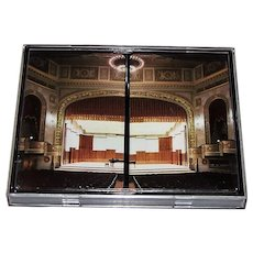 """Double Deck Gemaco """"Detroit Symphony Orchestra Hall"""" Put Together Playing Cards, Robert Eovaldi Photograph"""