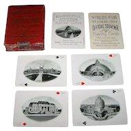 "Samuel Cupples Envelope Co. ""St. Louis World's Fair (Louisiana Purchase Exposition)"" Souvenir Playing Cards, c.1904"