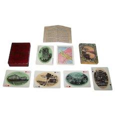 "USPC ""Panama Souvenir"" Playing Cards, c.1910"