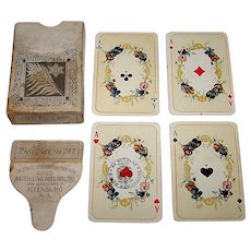 """VASS """"Patience No. 212"""" Patience Playing Cards (52/52, NJ), Children's Faces, c.1910-1920"""