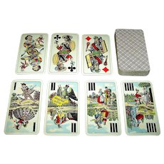 "Piatnik ""Industrie und Glück"" Tarock Cards, c.1950s"