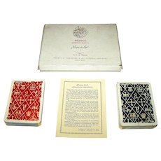 "Double Deck Fournier ""Romance Espagnol"" Playing Cards, C.S. de Tejada Designs, c.1959"