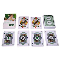 "KZWP ""Kaartjes Leggen Met Specsavers"" Playing Cards, Berlin Pattern w/Spectacles, Specsavers Optical Group, Ltd."