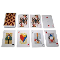 "Piatnik ""Karl Korab"" Playing Cards, Edition Hilger, Karl Korab Designs, c.1980"