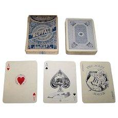 "C. L. Wüst No. 217 ""Buffalo Poker Karten"" Playing Cards, c.1923-1929"
