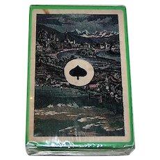 "Ediciones del Prado ""Swiss Cantons"" Facsimile Playing Cards [Original Deck— C.L. Wüst ""Swiss Cantons"" c.1870]"