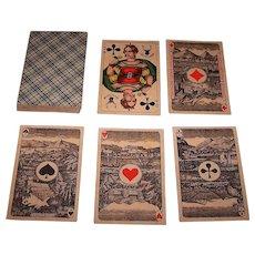 """Frommann & Bünte """"Französische Spielkarte"""" Skat Playing Cards, c.1910"""