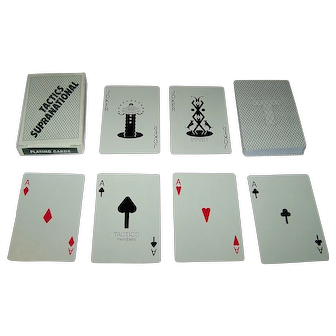 "Nintendo ""Tactics Supranational"" Playing Cards, c.1982"
