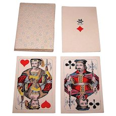 "C. L. Wüst ""Cartes Belges"" Skat Playing Cards, c.1880-1890"