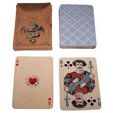 """Dondorf """"Piquet No. 105"""" Playing Cards, Rhineland Pattern, c.1923-1929"""