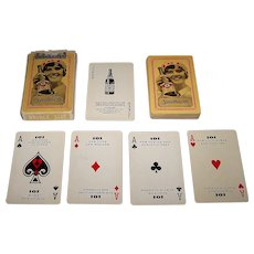"""Brown & Bigelow """"101 Solutions"""" Advertising Playing Cards, Gardiner Manufacturing Co. Publ., c.1930s"""