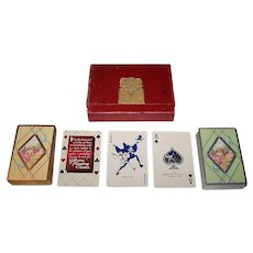"Double Deck Gibson ""Bailey, Banks & Biddle 100th Anniversary"" Playing Cards, c.1932"