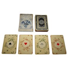 "Dondorf ""No. 250 Whist-Karten"" Playing Cards, ""Stuart Zeit"" (""Stuart Period"") Pattern, c.1912-1928"