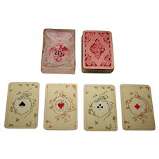 "Dondorf ""No. 187 Whist-Karten"" Patience Playing Cards, ""Stuart Zeit"" (""Stuart Period"") Pattern, c.1905"