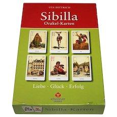 "Königsfurt Urania ""Sibilla"" Oracle Cards, Uta Dittrich Conception and Designs"