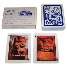 "Barajas Turisticas ""Visite Mexico"" Playing Cards, c.1978"
