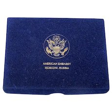 """Double Deck Gemaco """"American Embassy – Moscow, Russia"""" Playing Cards"""