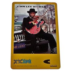 """USPC (Liberty) """"John Lee Hooker"""" Playing Cards, """"Mr. Lucky"""" Promotion, c.1991"""
