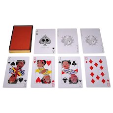 "USPC ""Purelann"" Playing Cards, African American Interest, c.1974"