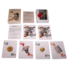 "Grimaud ""Nall"" Playing Cards, Fred Nall Hollis (""Nall"") Designs, c.1979"