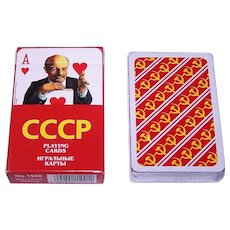 "Piatnik ""CCCP – Soviet Celebrities"" Playing Cards, Vladislav Pankevitch Designs"