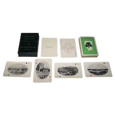 """C.T. Co., Ltd. """"52 Selected Views of Ireland"""" Playing Cards, c.1960"""