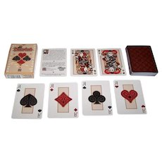 "Ben Crenshaw Studios ""Pippoglyph"" Playing Cards, Maker Unknown, Ben Crenshaw Designs, First Edition"