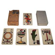"Alessandro Viassone ""Piedmont Tarot"" Tarot Cards, c.1926"