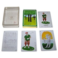 """Angel """"Mose"""" Playing Cards, """"Mose"""" Artist (?)"""