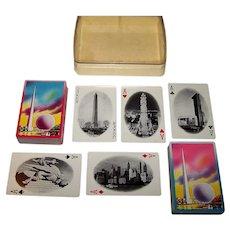 "Double Deck USPC ""New York World's Fair"" Playing Cards, c.1939"