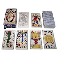 """Grimaud """"Ancien Tarot of Marseilles"""" Tarot Cards, c.1981"""
