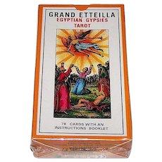 "Grimaud ""Grand Etteilla"" Tarot Cards, c.1998"