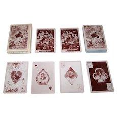 """The Oakwood – Santa Anita Ranch"" Playing Cards, Facsimile Edition of Alverson, Comstock Co. 1895 Deck, c.1986"
