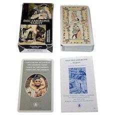 "Lo Scarabeo ""Decamerone Tarot"" Erotic Tarot Cards"