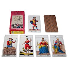 "A.G. Muller (U.S. Games Systems) ""1JJ"" Tarot Cards, c.1969"
