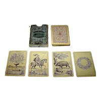 "J.O. Oberg & Son ""Prima Camfio Kort No. 386"" -- Kille-Type Playing Cards, c.1917"