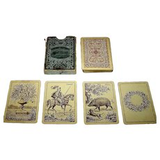 "J.O. Oberg & Son ""Prima Camfio Kort No. 386"" -- Kille-Type Playing Cards, c.1917"