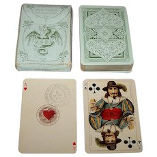 "Dondorf No. 168 ""Club"" Playing Cards, c. 1911"