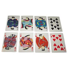 "Nintendo, ""Daiichi/Friden/Underwood"" Playing Cards, Dodwell Co. Designs, c.1962"